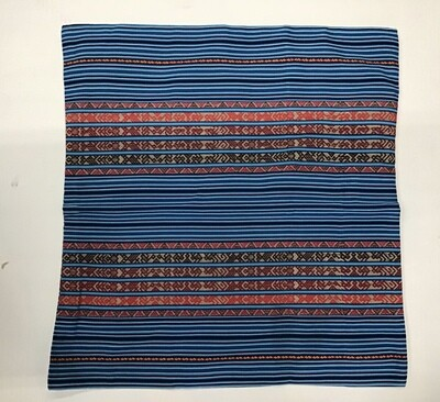 Peruvian Pillow Sham Large - Blue