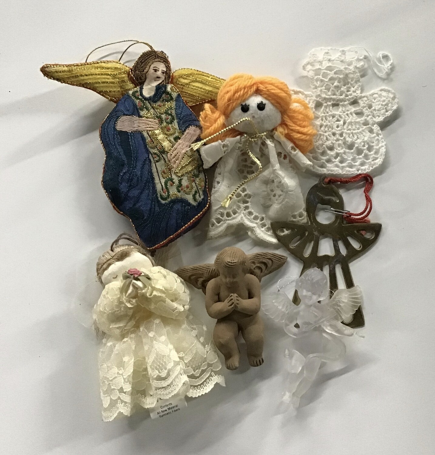 Angel Christmas Ornaments #1