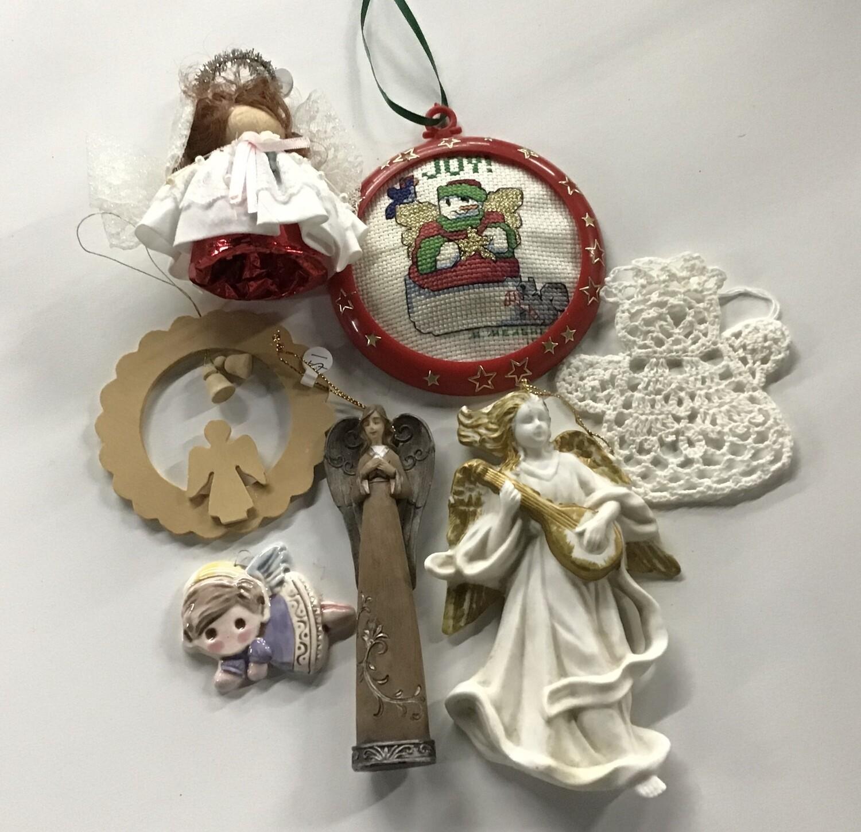 Angel Christmas Ornaments #2