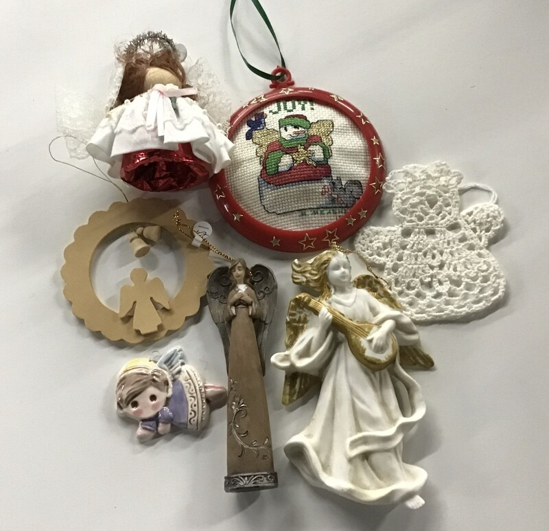 Angel Christmas Ornaments #2