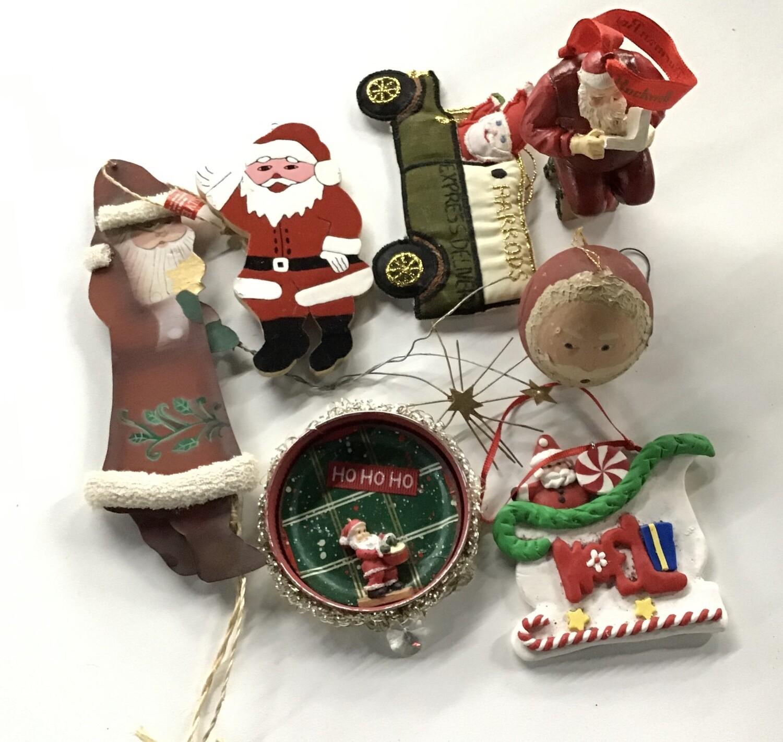 Santa Christmas Ornaments #1