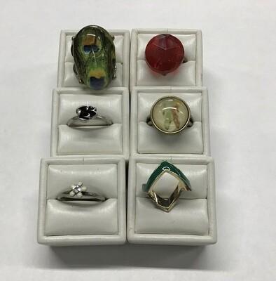 Six Rings, Random Sizes #1