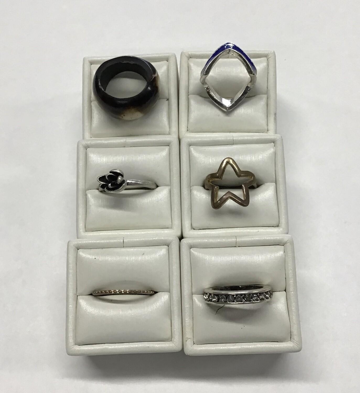 Six Rings, Random Sizes #3