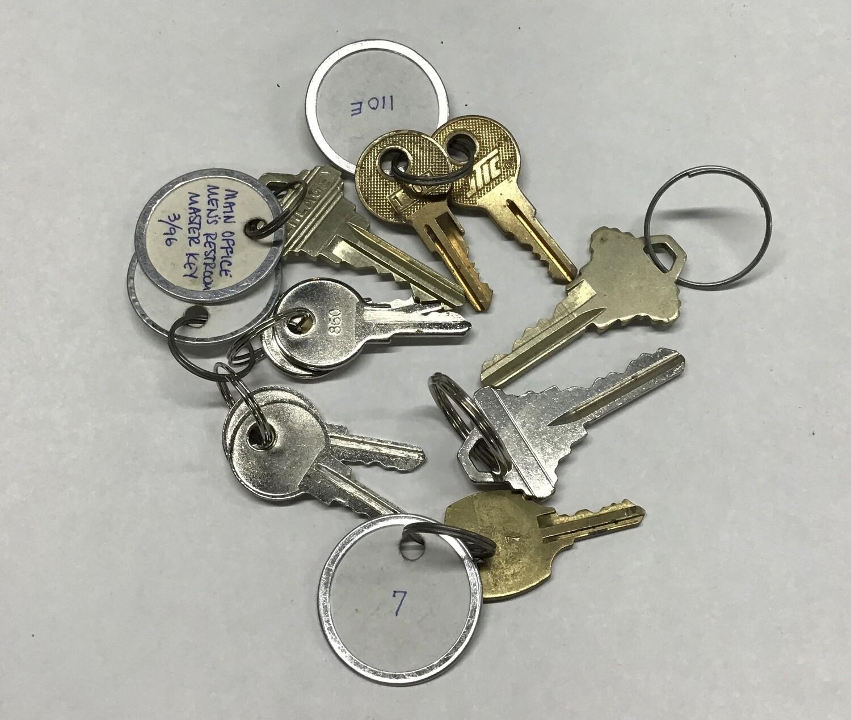 Ten Random Keys