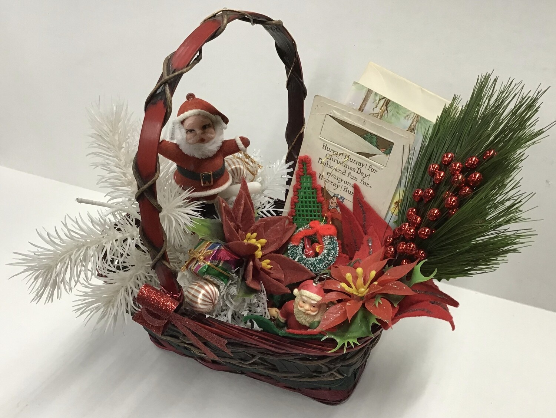 Vintage Christmas Basket #2