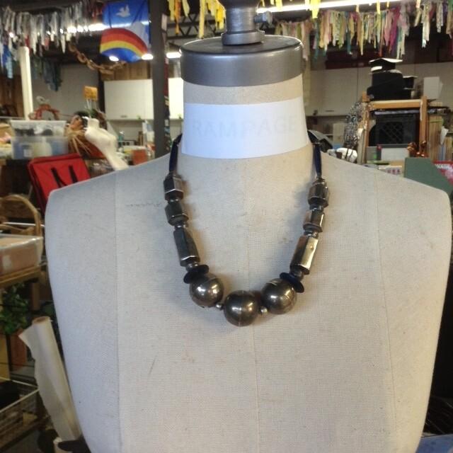 Geometric Bead Necklace