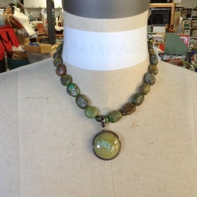 Colors of A Forest Necklace