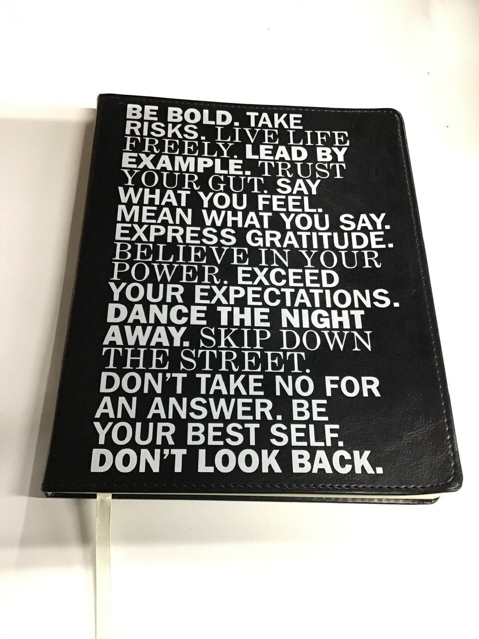 """""""Be Bold"""" Journal"""