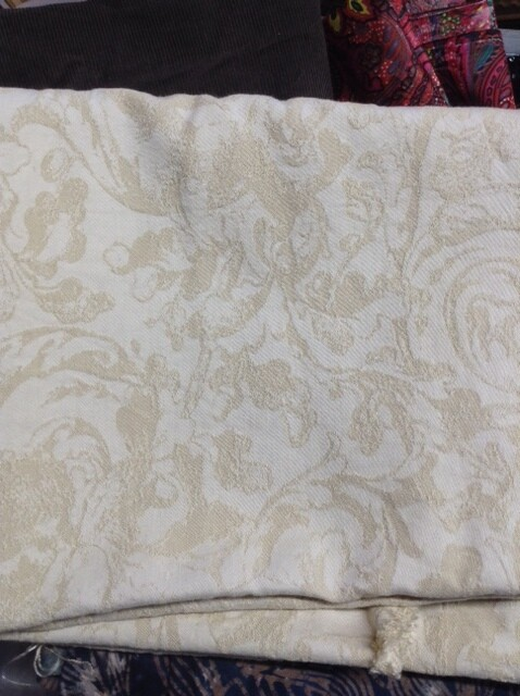 Fabric: Cream Tones, Upholstery