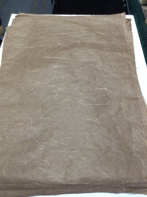 Handmade Paper: Brown