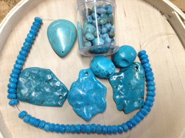 Beads: Shades of Turquoise