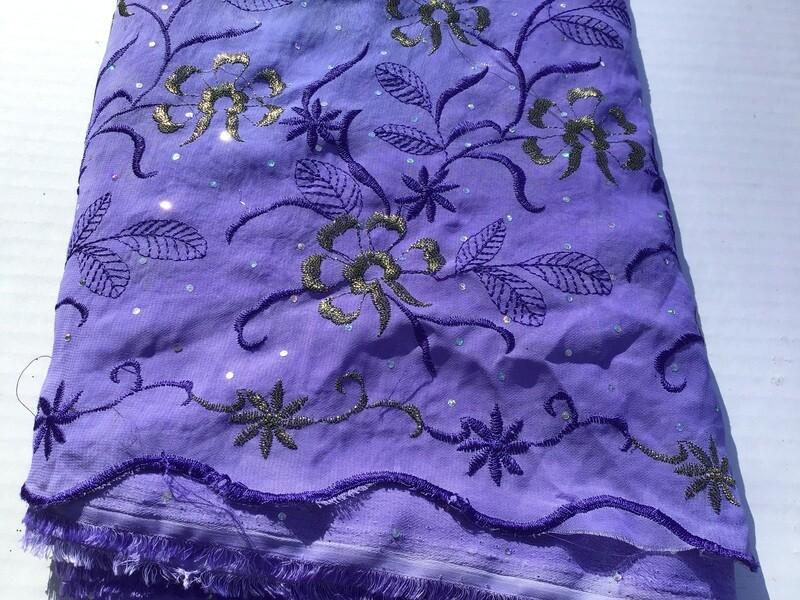 Fabric: Purple Sparkle