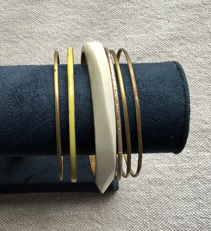 Bracelet Set: Brass #1
