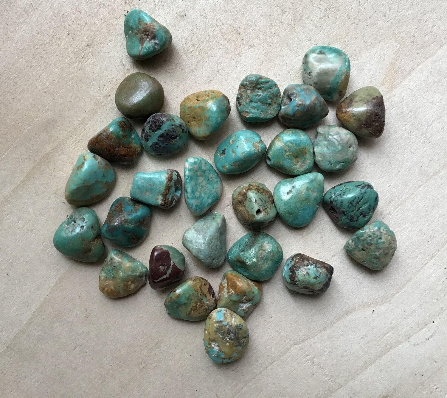 Beads: Turquoise
