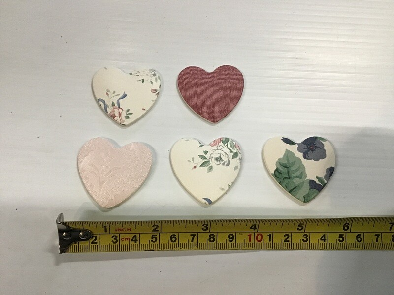 Heart Decorations: Assorted, Set of 5