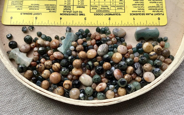 Beads: Jasper & Agate #2