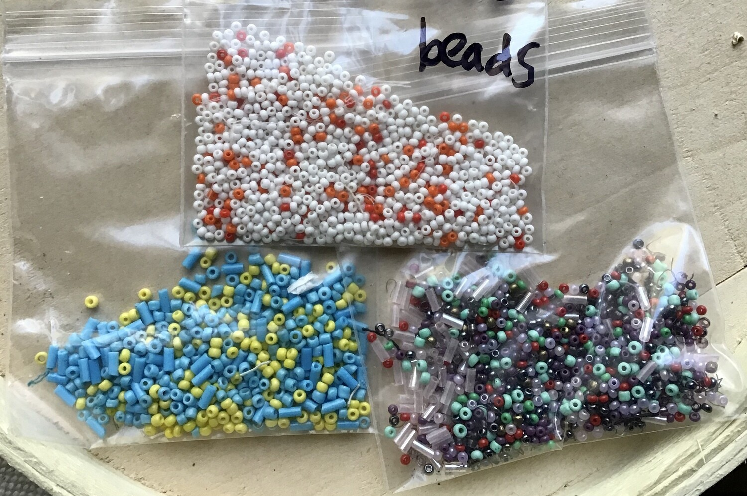 Beads: Assorted Seed Beads #1