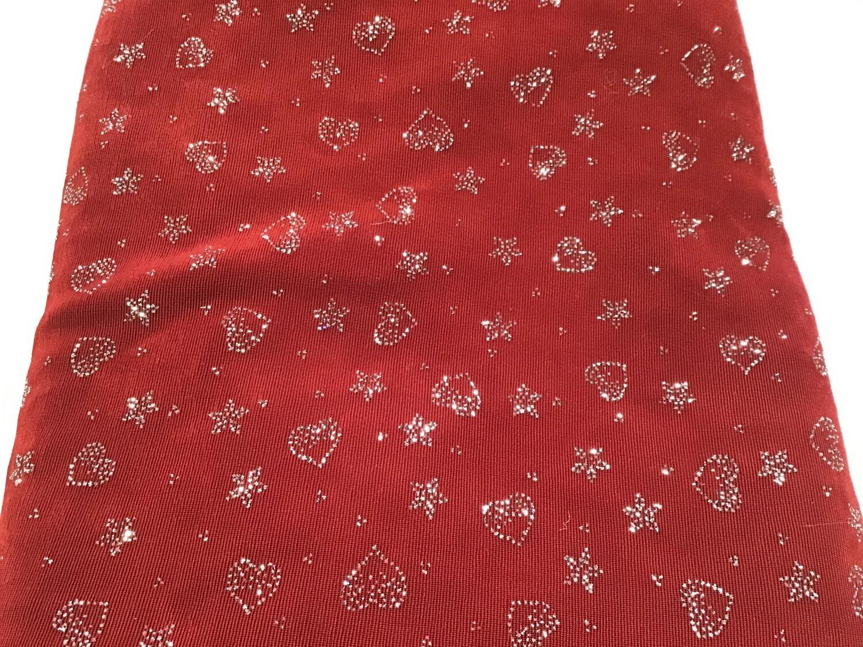 Fabric: Sparkle Hearts