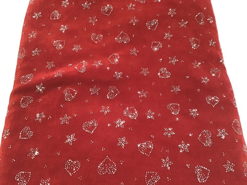 Fabric: Sparkle Hearts