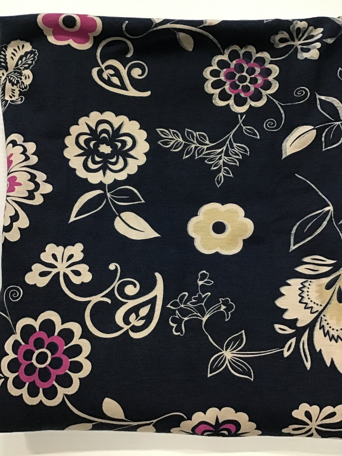 Fabric: Navy Floral