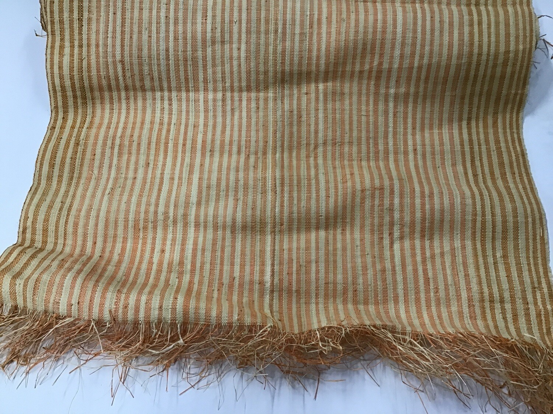 Woven Runner / Orange Stripe