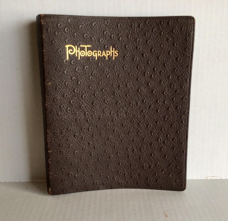 Vintage Black Scrapbook