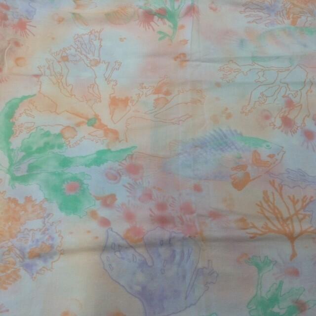 Fabric: Pastel Fish