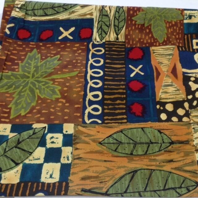 Fabric: Leaves & Designs