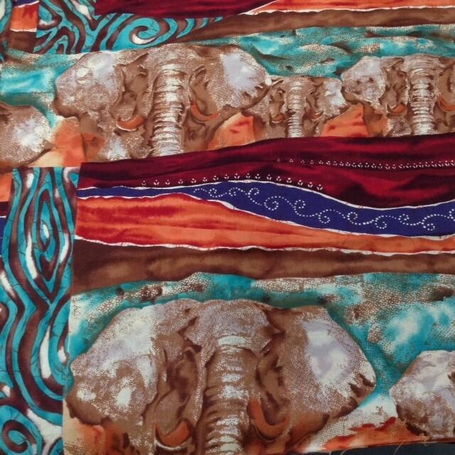 Fabric: African Elephant
