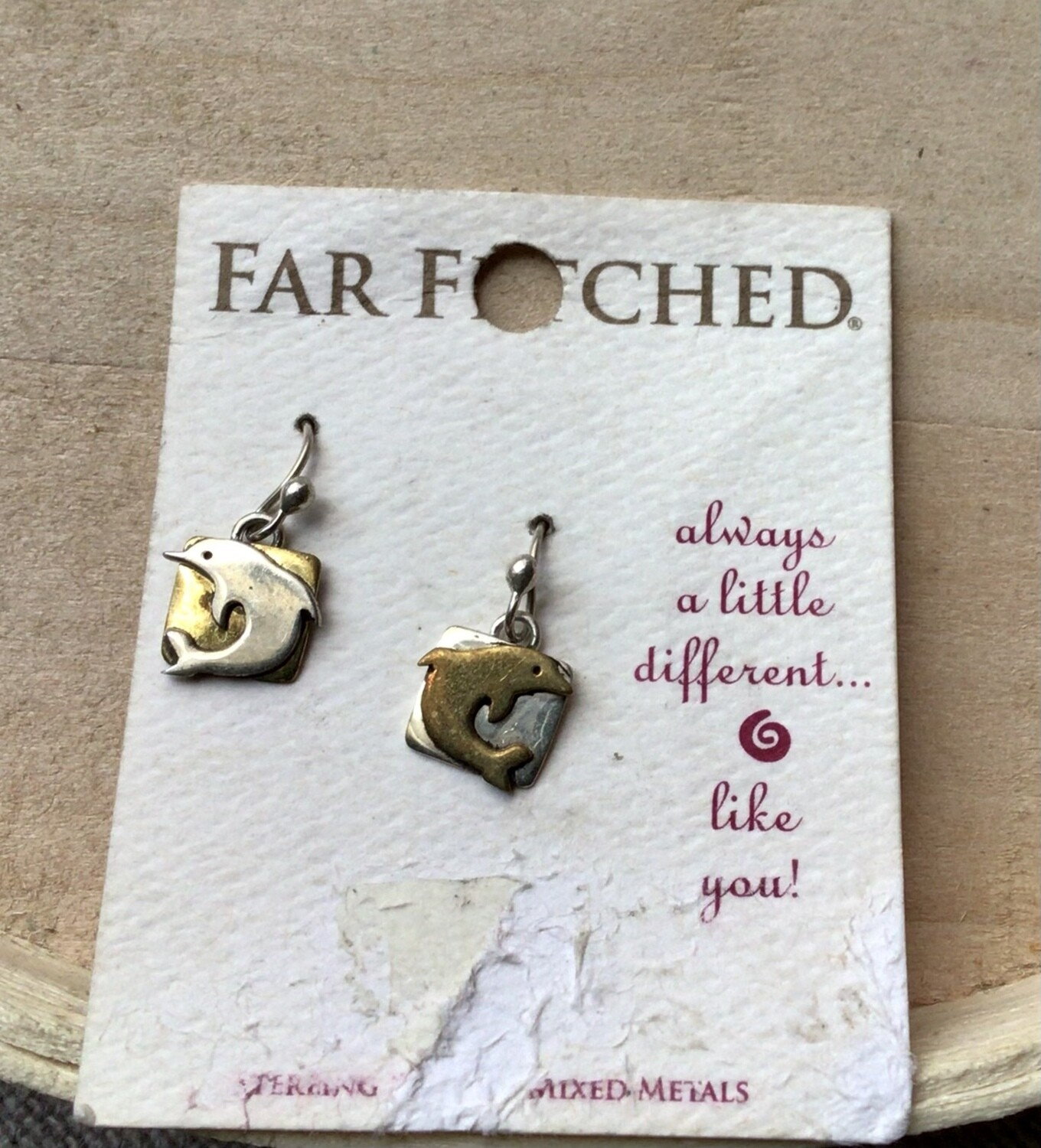 Earrings: Dolphins Sterling Silver Far Fetched