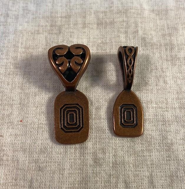 Copper Bales, Cones, Toggle (10 pieces)