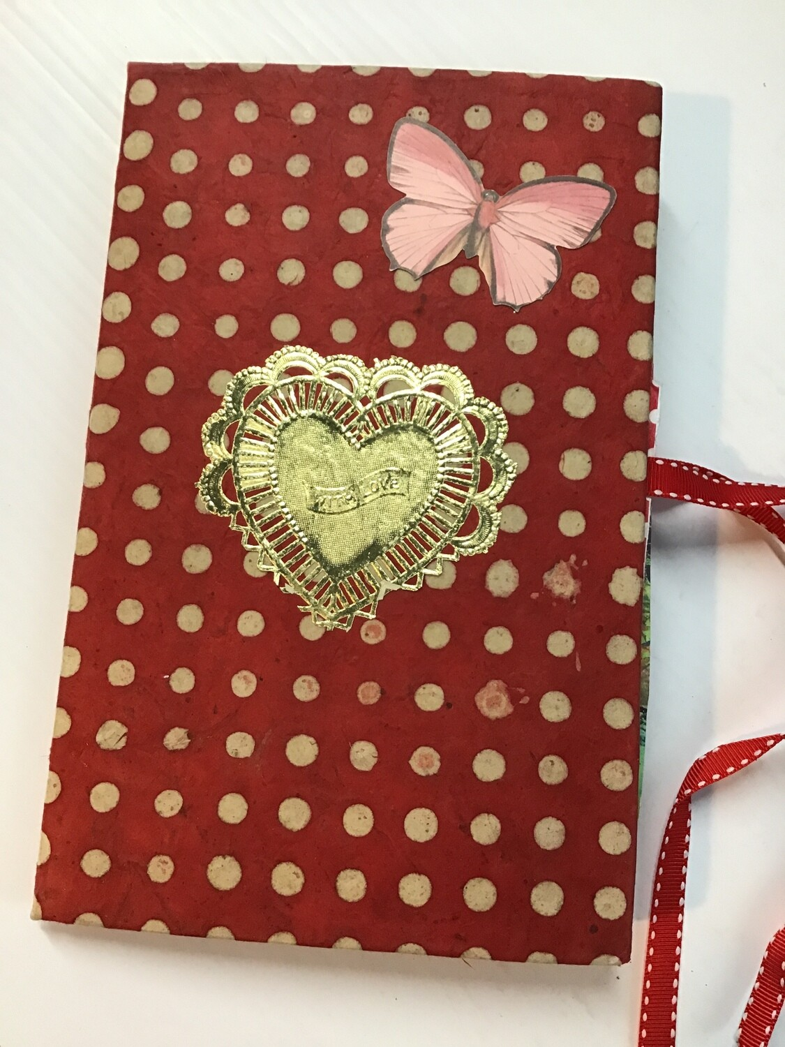 "Handmade Book ""With Love"""