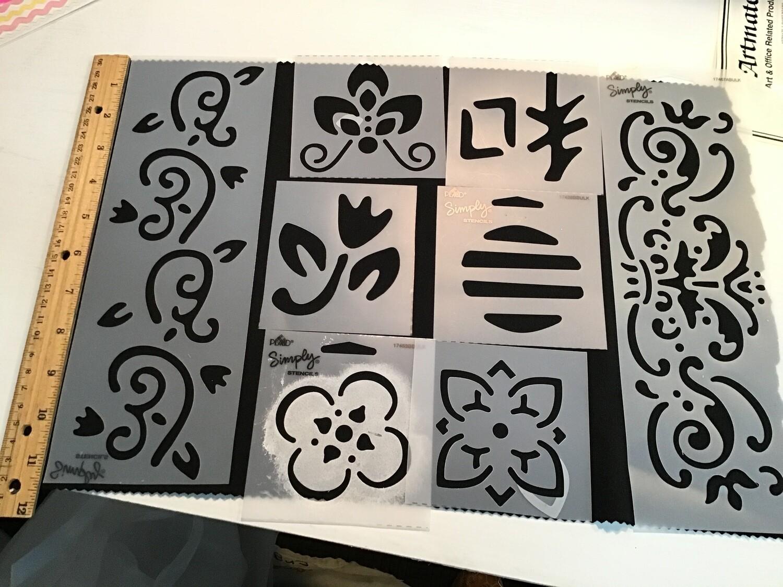 Stencil Set #1