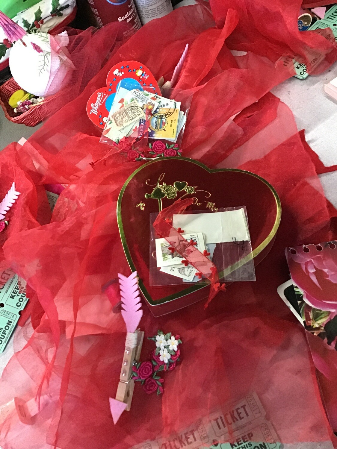 Kit Of The Month: February / One Of A Kind Heart and Love Letter Supplies