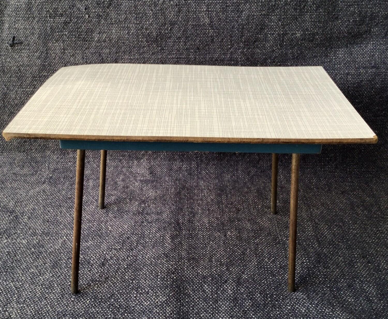 Miniature Furniture: Mid Century Table