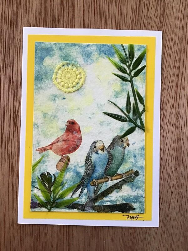Featured Artist: Maxine Seelenbinder-Apke / Card #4