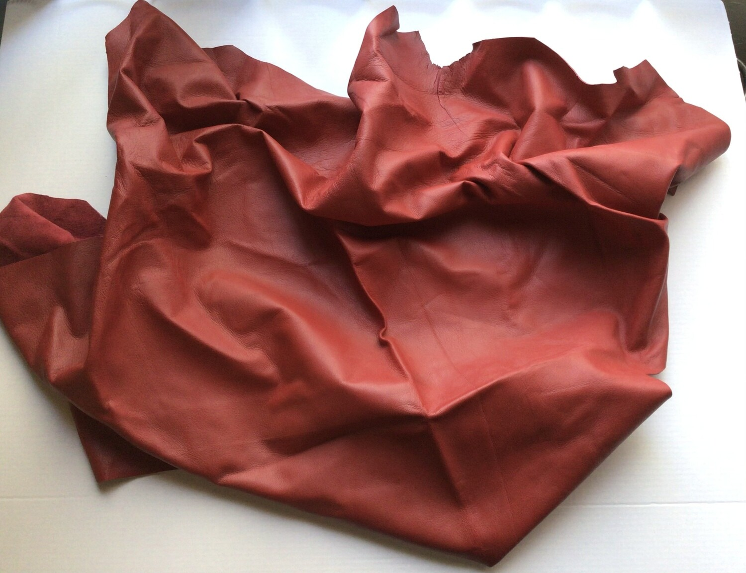 Leather: Red