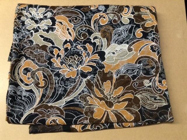 Fabric: Orange Design, Stretch