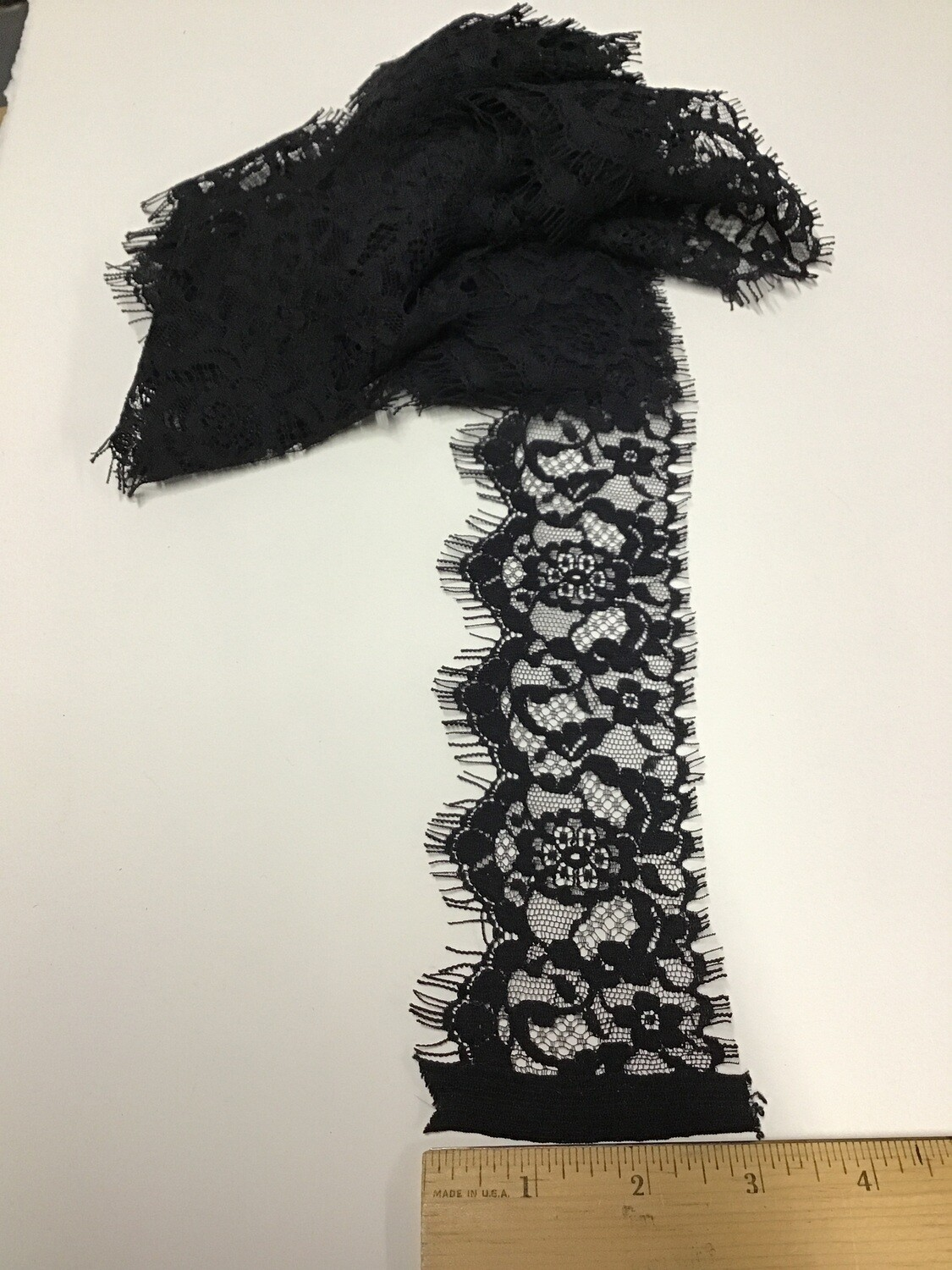 Lace Trim (Black) / 5 yards