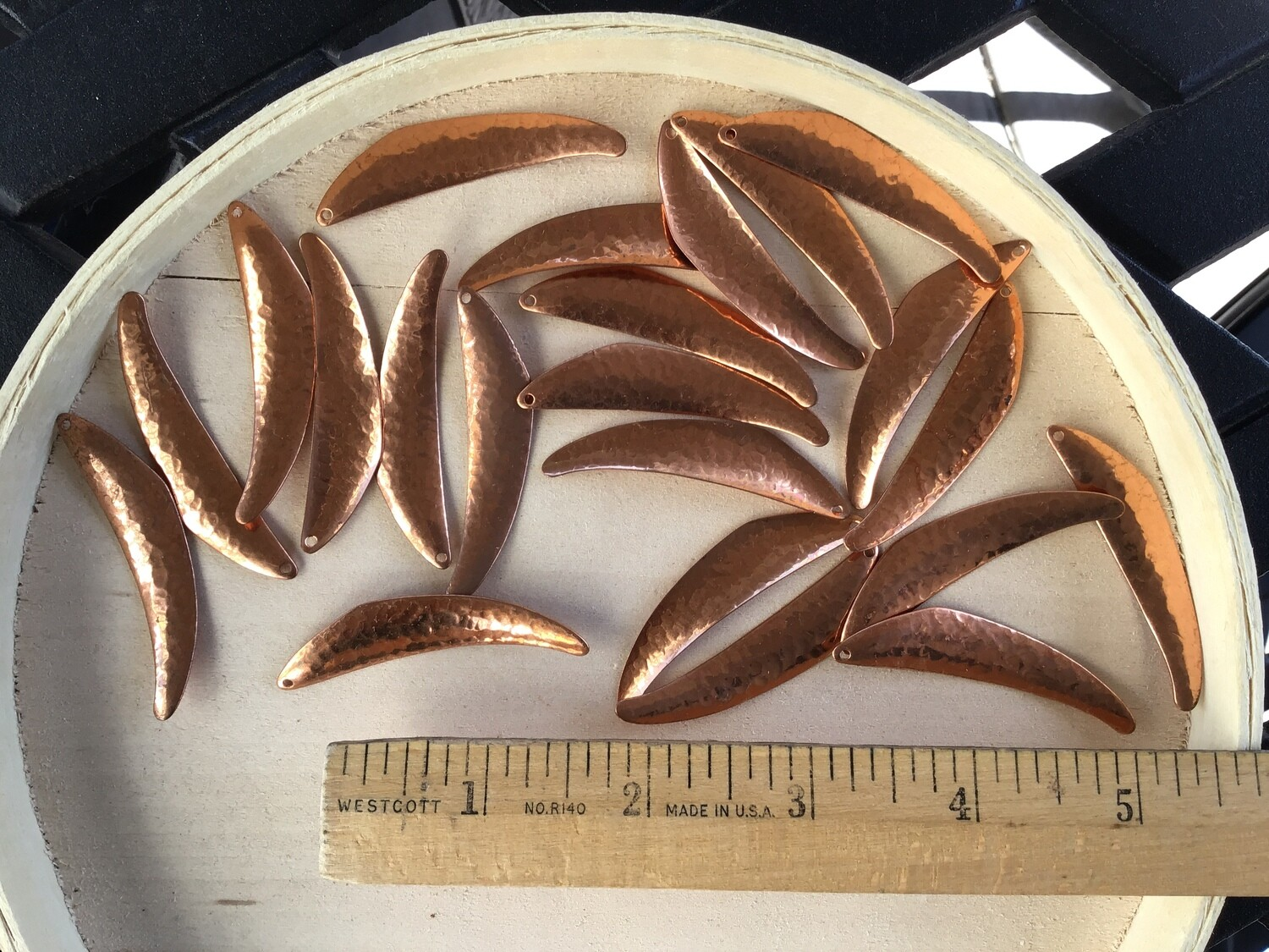 Jewelry Supplies/ Copper Pieces