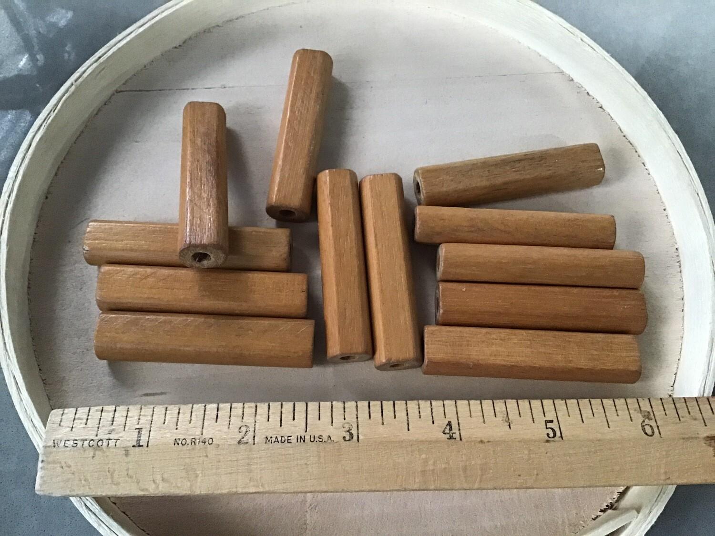 Beads: Long Wooden