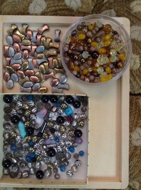 Beads: Glass, Metal, and Mix