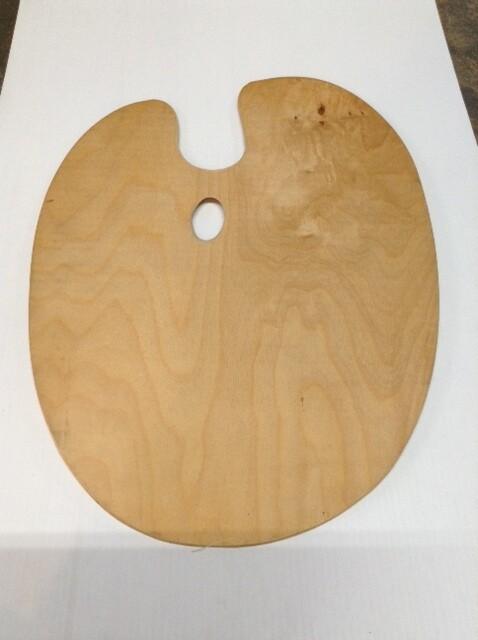 Paint Palette, Wood #3