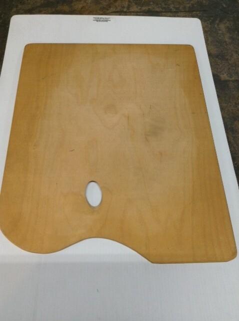 Paint Palette, Wood #2