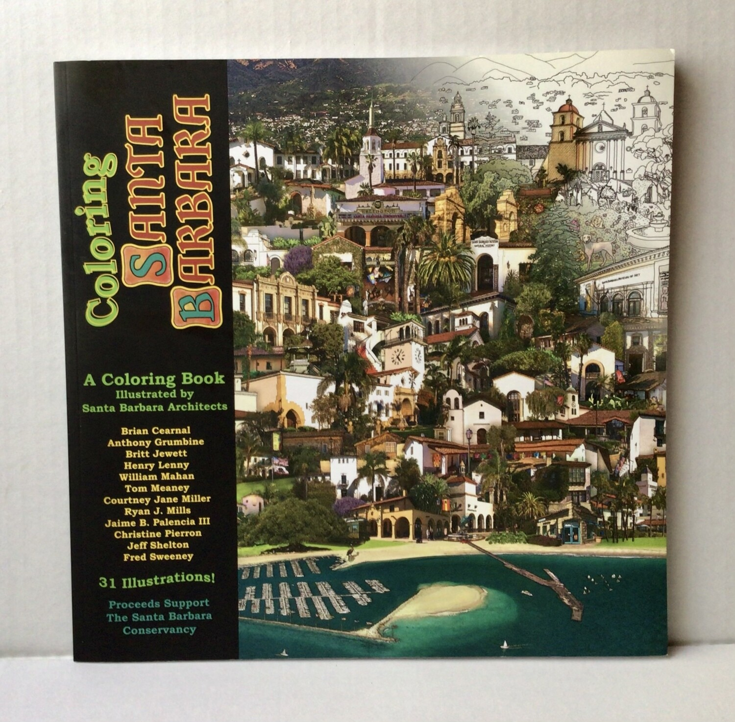 Santa Barbara Coloring Book NEW