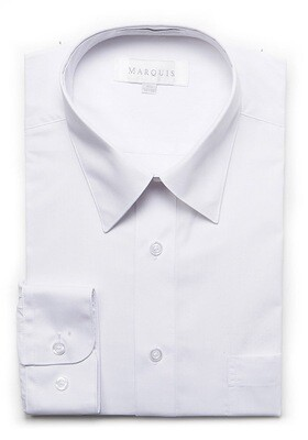 Dress shirt only white/egg shell/light blue/black