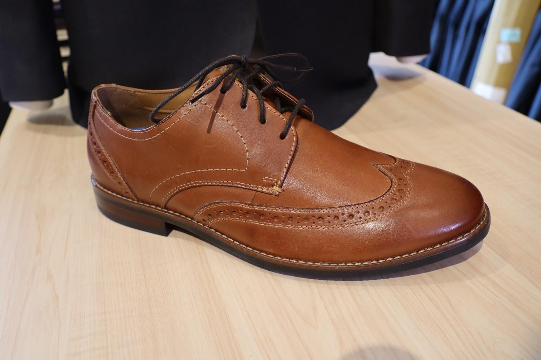 Nunn Bush 5th Ward dress shoe: Wing Tip