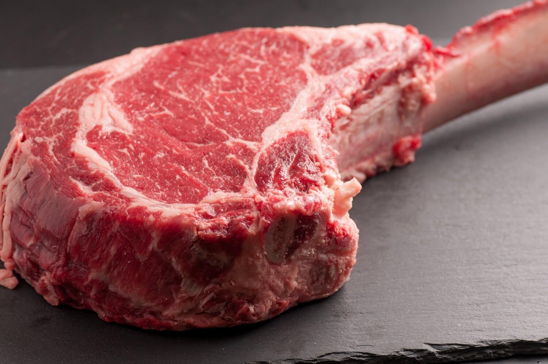 16oz USDA Prime Angus Bone In Cowboy Steak (Sold in 2PK)