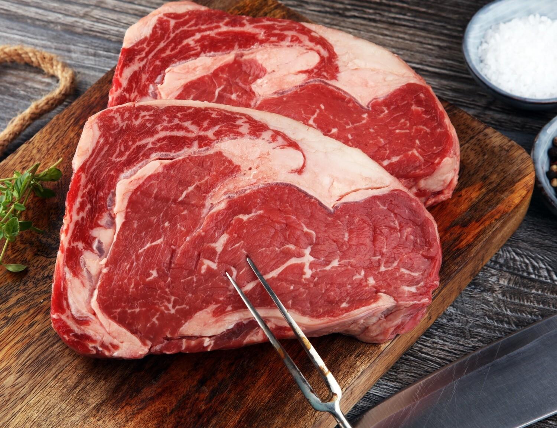 10oz USDA Prime Angus Boneless Rib Eye Steaks (Sold in 2 PK)