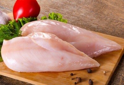 5oz All Natural Trimmed Fresh Chicken Cutlets (Sold in 4PK)